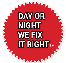 Day or Night We Fix it Right!